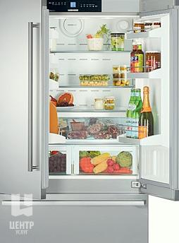 Услуги по ремонту холодильников Liebherr можно заказать в Центре Услуг