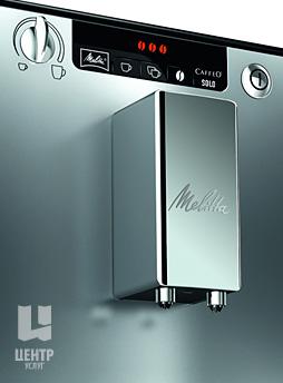Услуги по ремонту кофемашин Melitta можно заказать в Центре Услуг