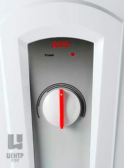 Услуги по ремонту водонагревателей и бойлеров AEG можно заказать в Центре Услуг